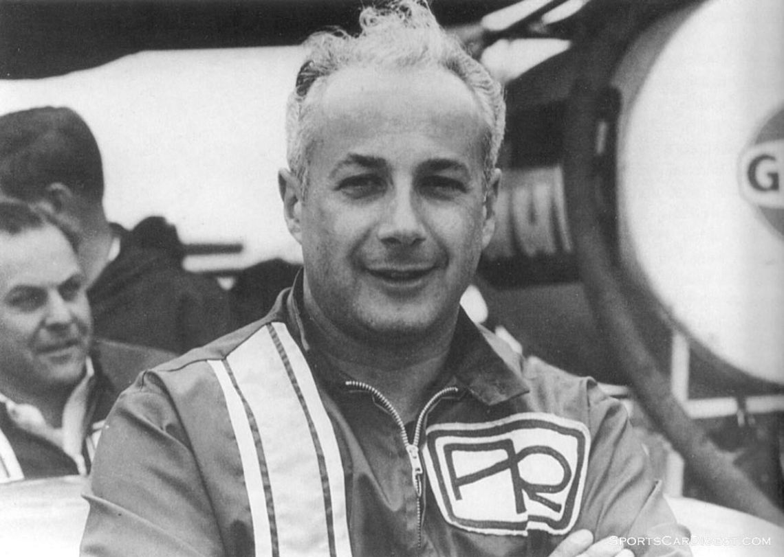 C. Rino Argento at Sebring in 1965.  Photo courtesy of mycarquest.com and The Griffon