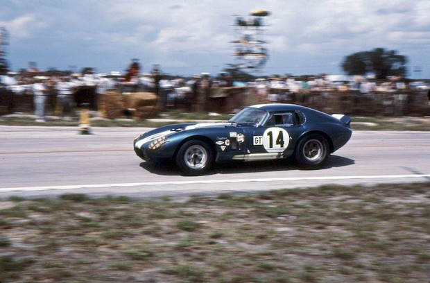 Shelby Cobra Daytona Coupe of Bob Johnson and Tom Payne