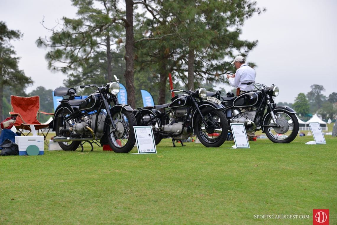 BMW Motorcycles - Pinehurst Concours 2016