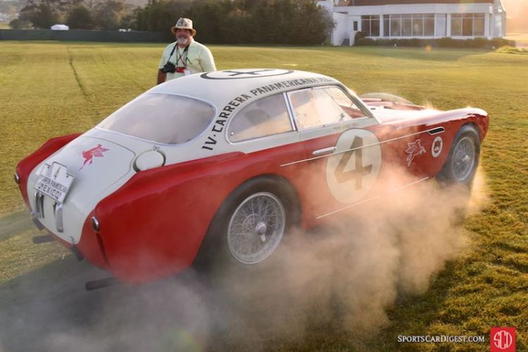 Little overheating issue with the 1953 Ferrari 340 Mexico Vignale Berlinetta 0222AT
