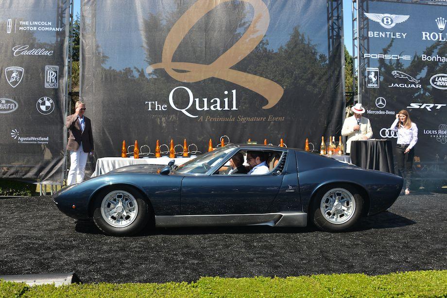 1969 Lamborghini Miura S won Best in Class, Lamborghini