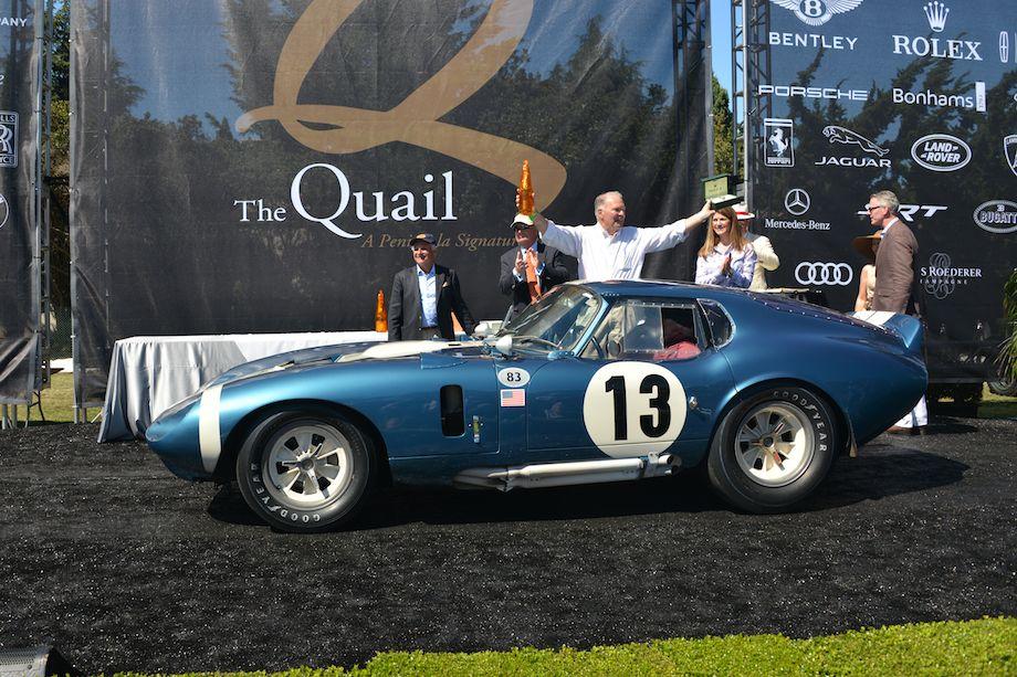 Best of Show Winning 1964 Shelby Cobra Daytona Coupe