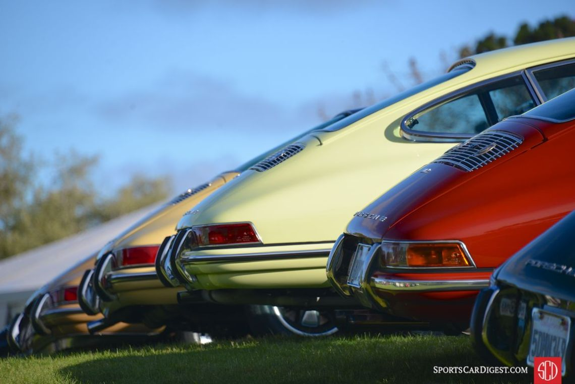 Unmistakable shape of the 911 at Porsche Werks Reunion 2015