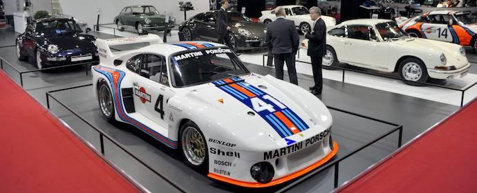 Porsche Display at Salon Retromobile 2013