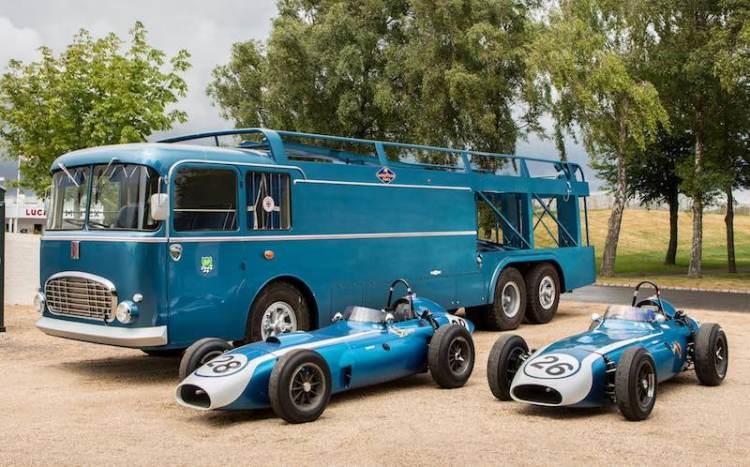 1959 Scarab Formula 1 Single-Seater, 1959-Type Scarab Formula 1 Single-Seater and the Scarab Formula 1 Team Transporter