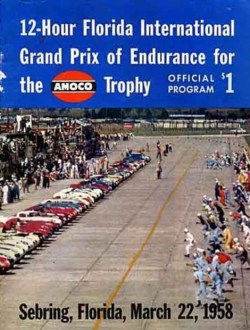 1958 12 Hours of Sebring by Ed McDonough