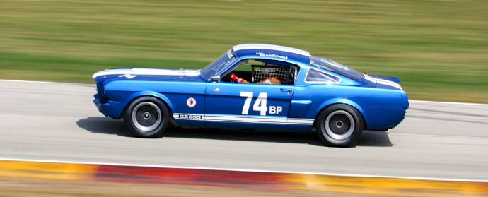Shelby Mustang GT350 at Road America