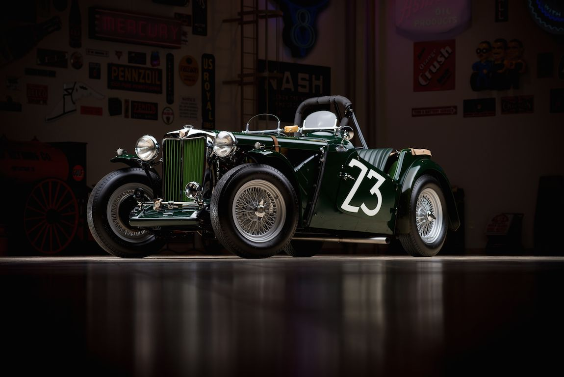 Shelby\'s First Ride - 1949 MG TC Photos, Profile, History