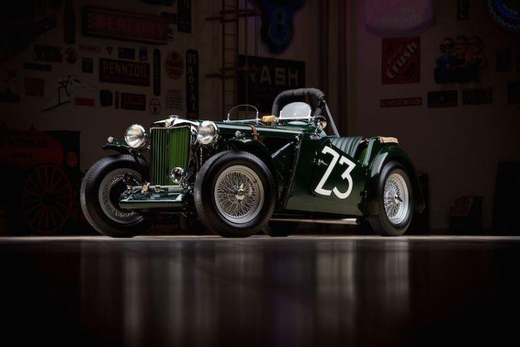 Ex-Carroll Shelby 1949 MG TC Race Car