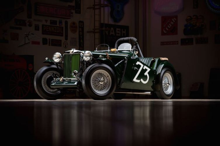 Ex-Carroll Shelby 1949 MG TC Race Car