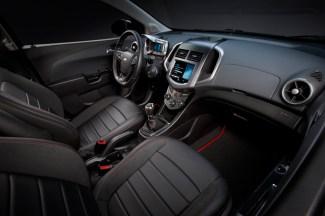 2013 Chevrolet Sonic RS Interior