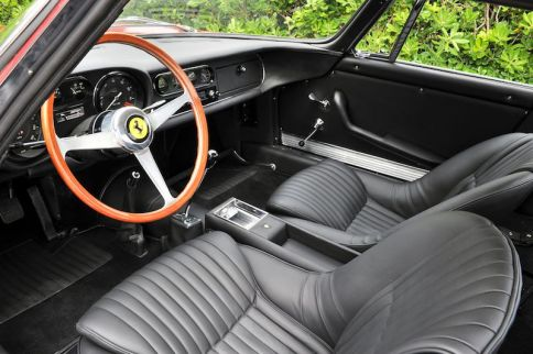Steve McQueen Ferrari 275 GTB4 Interior (photo: Tim Scott)