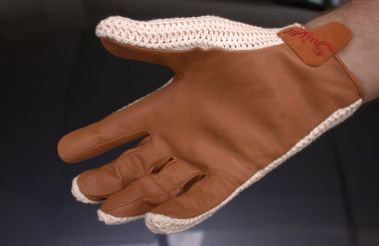 Grip is excellent, yet they breathe better than any other driving glove.