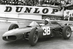 Phil Hill in the Ferrari 156 F1 Sharknose picture