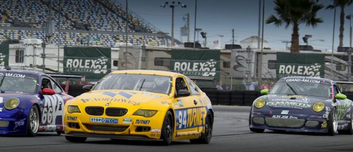 Turner Motorsports BMW M6 leads GT battle