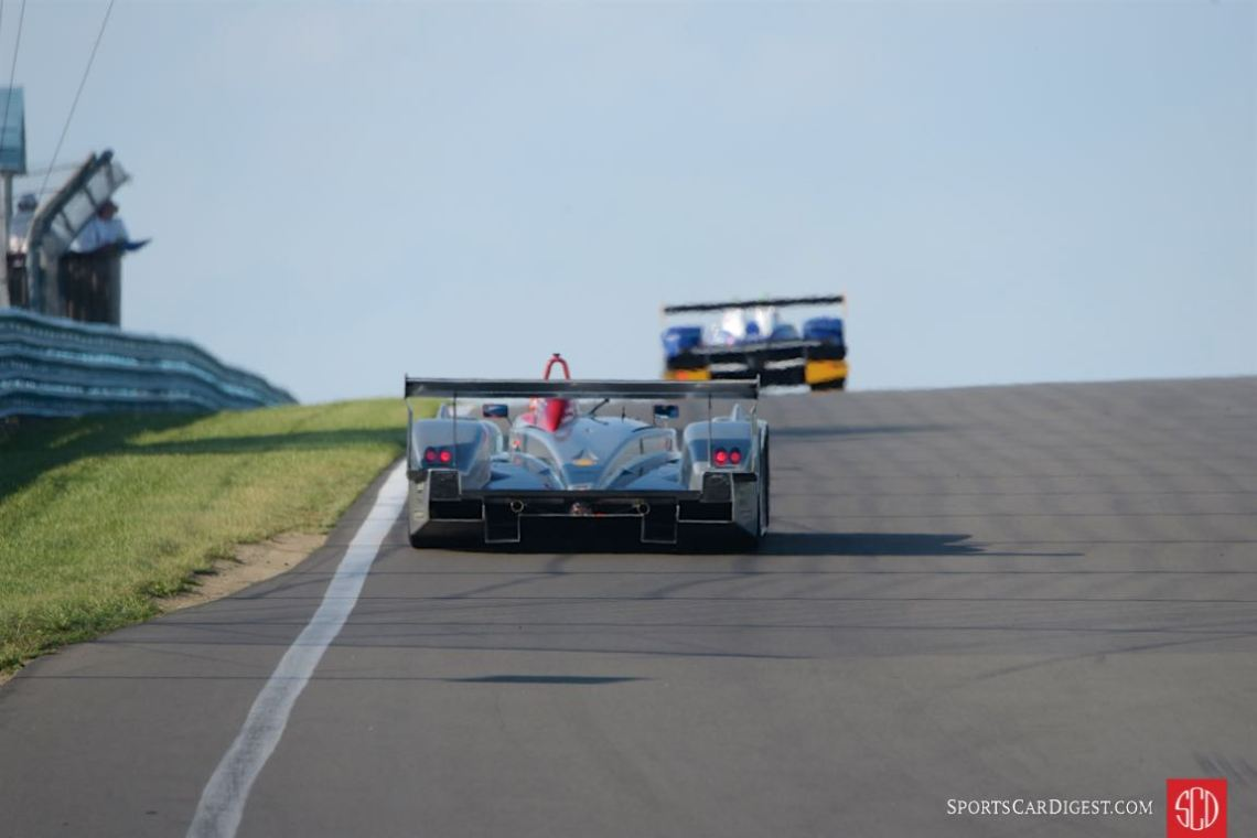 And that how they finished - David Porter's Pescarolo and Travis Engen in his Audi R8 LMP