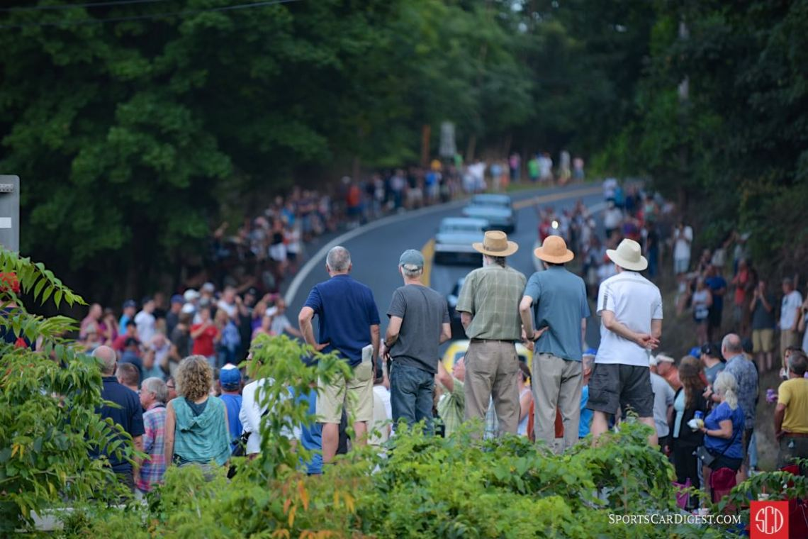 Overflowing crowds at the Watkins Glen Grand Prix Tribute 2016