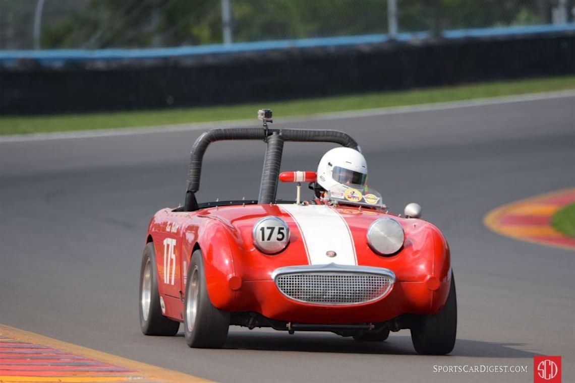 1959 Austin-Healey Bugeye Sprite - Russ Noblett.