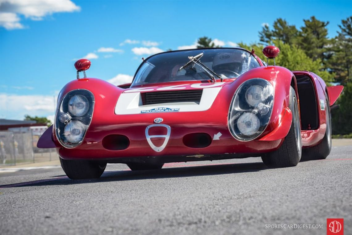 Jay Iliohan's stunning 1968 Alfa Romeo T33-3 Daytona