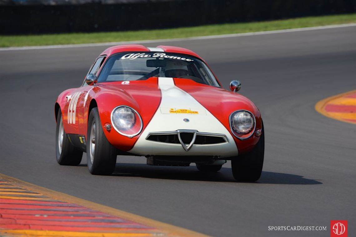 1964 Alfa Romeo TZ1 - Jay Iliohan