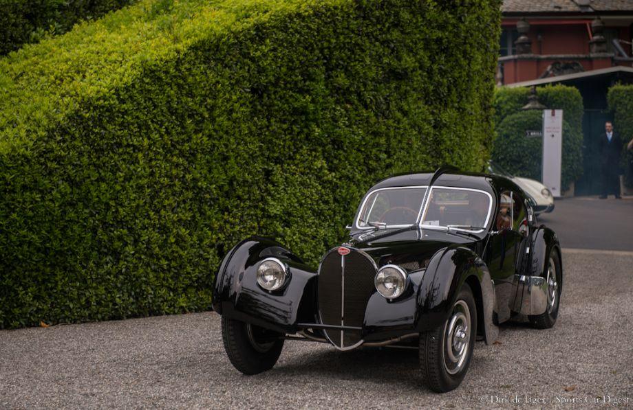 1938 Bugatti T57SC Atlantic