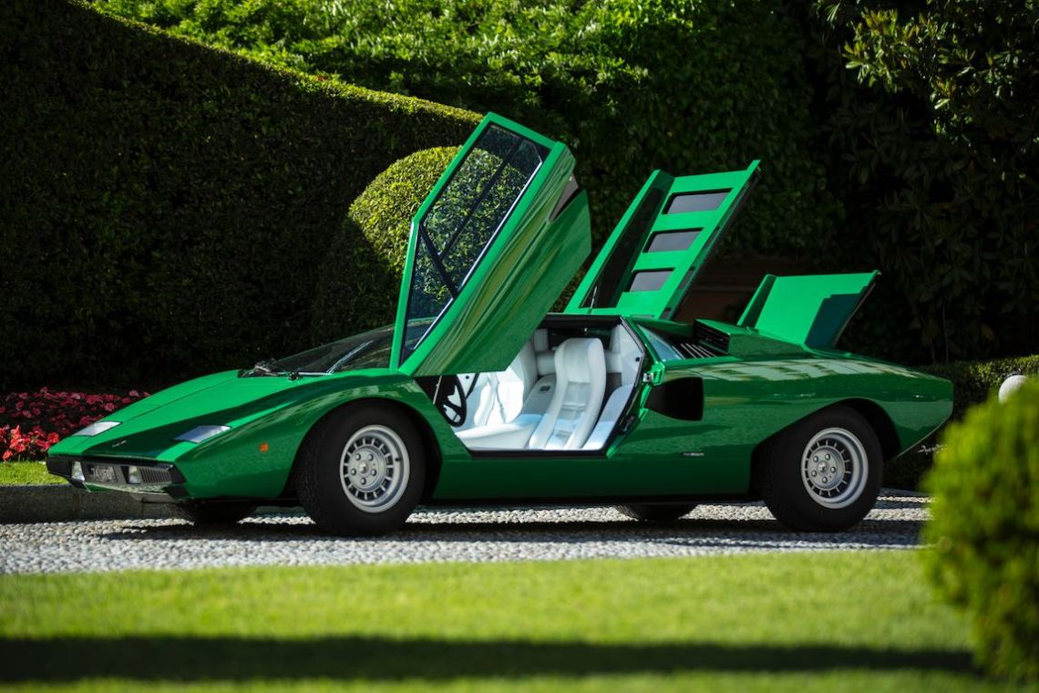 1975 Lamborghini P400 Countach