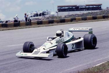 1979 Brazilian Grand Prix. Interlagos, Sao Paulo, Brazil. 2-4 February 1979. Alan Jones (Williams FW06 Ford). Ref-79 BRA 14. World Copyright - LAT Photographic