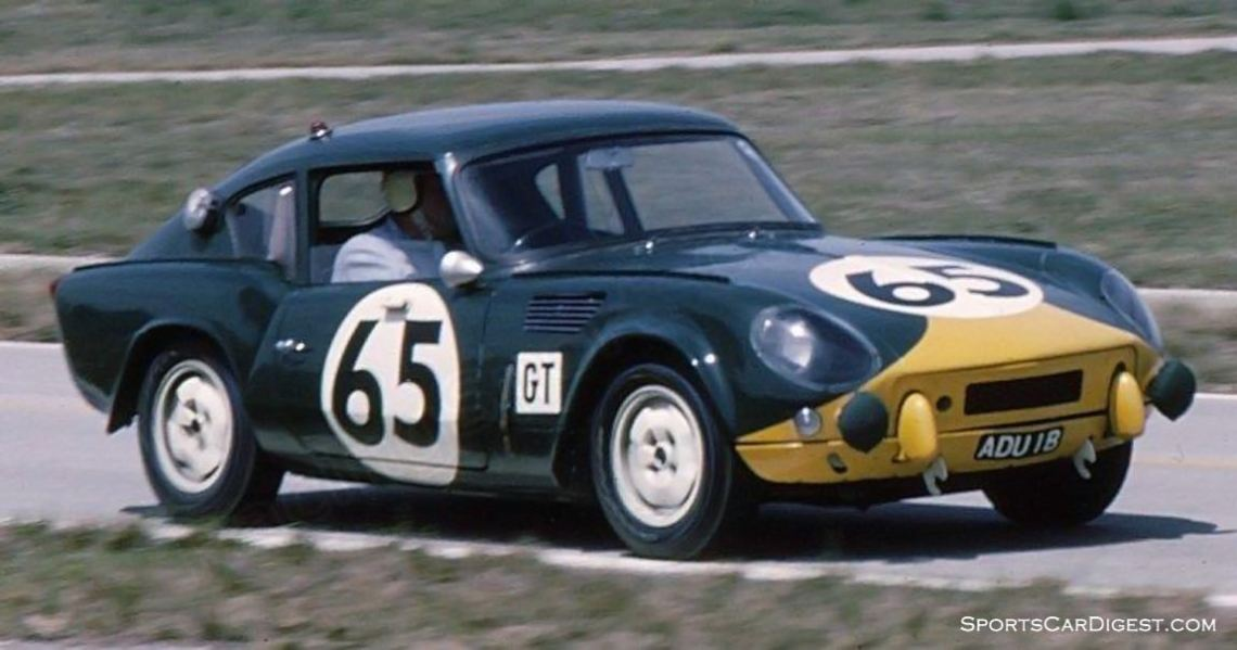 Triumph Spitfire of Peter Bolton and Mike Rothschild. (photo: Bill Stowe)