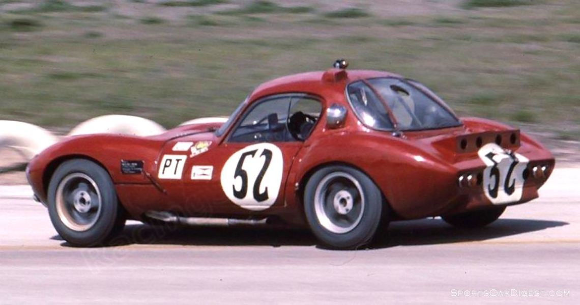 Ginetta G4 R of Jack Walsh, Gordon Browne and Peter Keith had to retire due to a blown engine. (photo: Bill Stowe)