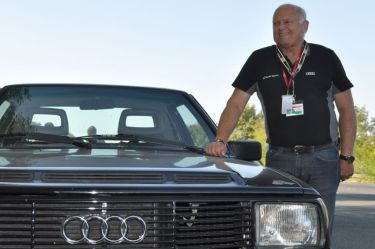 Stig Blomqvist, the special guest of the reunion