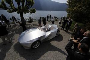 BMW Gina Concept at Concoro d'Eleganza