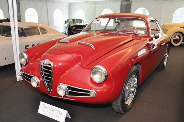 <strong>1955 Alfa Romeo 1900C Super Sprint Berlinetta – Sold for $557,000 versus pre-sale estimate of $400,000 - $500,000.</strong> Coachwork by Zagato.