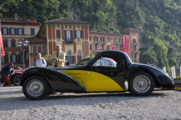 <strong>Class B - Prewar Closed Cars</strong>, 1938 Bugatti 57S Atalante, Gil Noble, United Kingdom