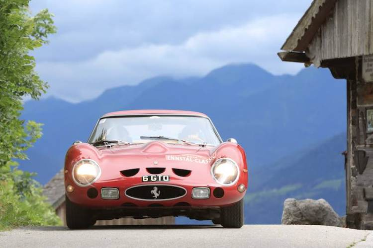 1962 Ferrari 250 GTO, chassis 3527GT, on Ennstal-Classic 2014