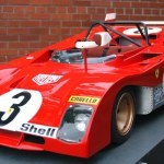 Ferrari 312 PB Scale Model – Car Profile