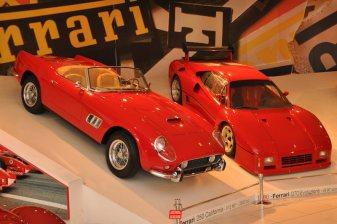 1957 Ferrari 250 GT California Spider and 1986 Ferrari GTO Evoluzione