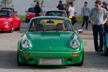 SCD's 1975 Porsche 911S/Carrera RS 3.0 Tribute (Photo: Victor Varela)