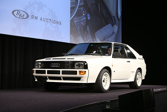 1984 Audi Sport Quattro sold for $401,500