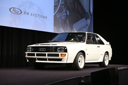 1984 Audi Sport Quattro sold for $401,500