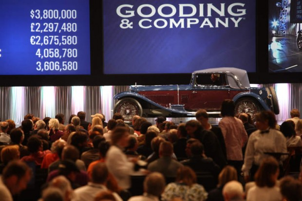 <strong>1933 Alfa Romeo 8C 300 Drop Head Coupe – Sold for $4,180,000 versus unavailable estimate.</strong> Pebble Beach Best in Class.