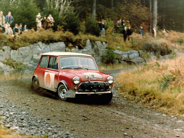 Mini Cooper Racing History And Photo Gallery