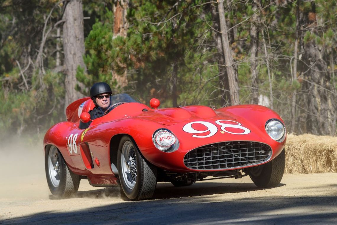 1955 Ferrari 857S Scaglietti Spider owned by Les Wexner