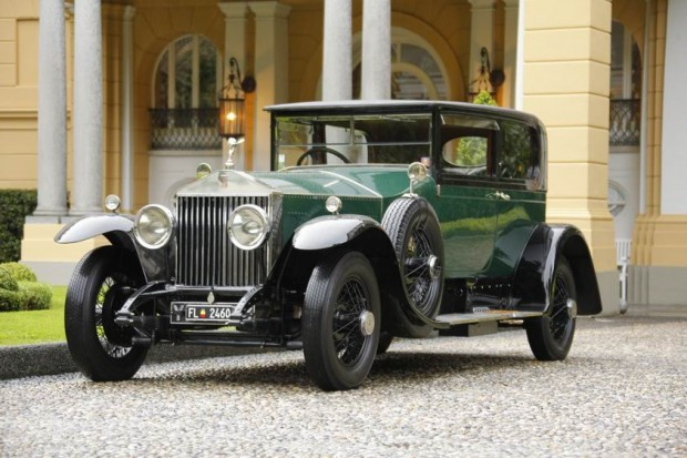 <strong>Trofeo Rolls-Royce - To the most elegant Rolls-Royce </strong>, 1925 Rolls-Royce Phantom I Sports Saloon Hooper, Norbert Seeger, United States