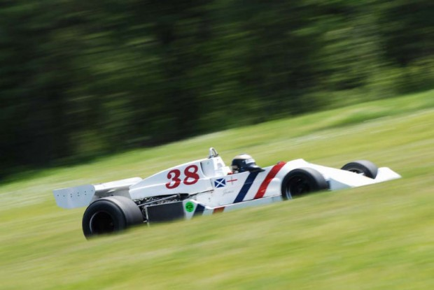 1975 Hesketh 308 B, ex-James Hunt, driven by Divina Galica