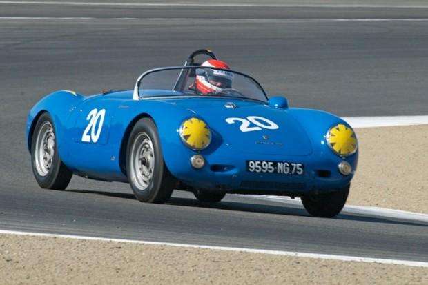 Bob Baker - 1955 Porsche 550 Spyder