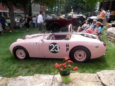 Ex-Donna Mae Mims SCCA H Production National Championship-winning 1959 Austin-Healey Sprite