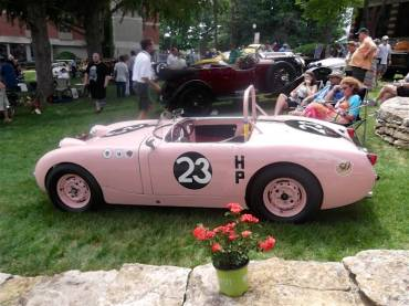 Ex-Donna Mae Mims SCCA H Production National Championship-winning 1959 Austin-Healey Sprite
