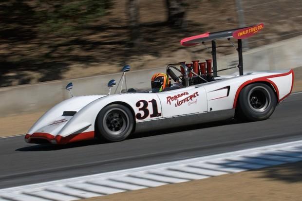 Class Winner Craig Bennett - 1969 Lola T163