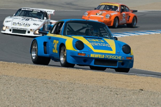 Tomy Drissi - 1973 Porsche 911 RSR 3.0 Liter. This car won the 1977 Twelve Hours of Sebring driven by George Dyer and Brad Frisselle.