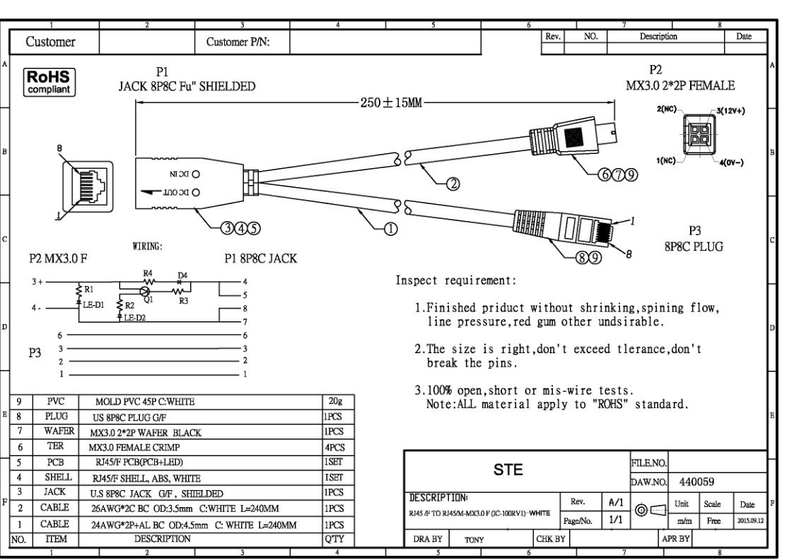 hight resolution of poe injector schematic